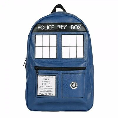 Doctor Who Blue Tardis Police Box Bbc Backpack (Doctor Who Backpack)