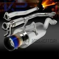 2006-2011 Honda Civic Si Coupe Exhaust Catback Burnt Tip Muf
