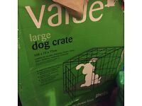 Large dog crate brand new