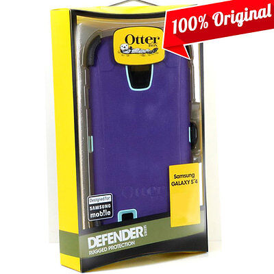 Otterbox Galaxy S4 Defender Case Lily (purple/blue) Authe...