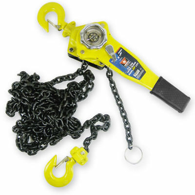 Chain Hoists 34 Ton 10 Foot Lift Chain Dia 14 Inch W Mechanical Load Brake