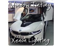 Window Tinting, Hid Xenon Lights, Xenon Repairs, Angel Eyes, BMW Coding, East London, Forest Gate