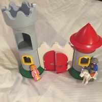 Playmobil 123 castle and characters