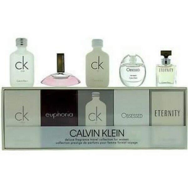 CALVIN KLEIN MINIATURES 05 COFFRET FOR WOMEN