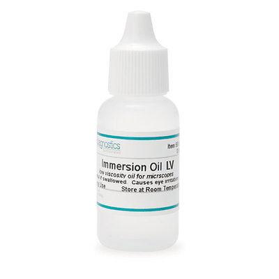 Low Viscosity Immersion Oil 0.5oz 6 Pk