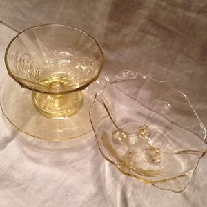 Depression Glass (yellow) Cambridge Kitchener Area image 2