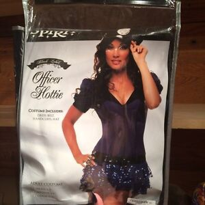 "Size Small ""Officer Hottie"" Halloween Costume"