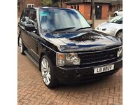 "Range Rover Vogue - recent service, 22"" wheels. DRL's"
