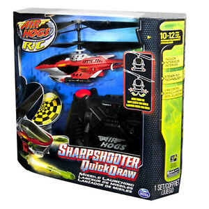 NEW: Air Hogs - Sharp Shooter - Red Color - $35 (NO TAX)