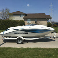 2006 Sea-Doo Challenger 180 SE boat, great condition