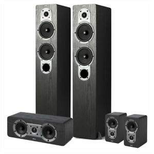 JAMO S426 5 + 1 Speakers. Surround Sound 5.1. Floor standing, to