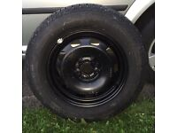 """VW Golf/Bora 15"""" Wheel with a Continental ContiEcoContact EP 195/65 r15 tyre"""