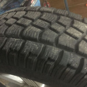 LT255/70R18 Avalanche Extreme snow tires.