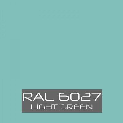 Ral 6027 Light Green Powder Coating Paint - New 1lb