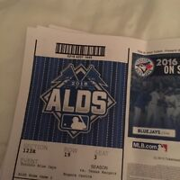 Best seats in the place ALDS game 2 Premium Dugout 2 tickets