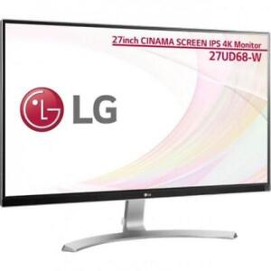 LG 27UD68-W _893 4K 5ms 350 cd/m² IPS LED Monitor (Factory Refurbished) ***READ***