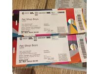 2 x Pet Shop Boy Concert Tickets Hamburg - Any offers please