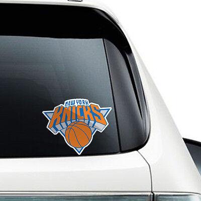 New york knicks NEW NBA Die Cut Vinyl Sticker Car Bumper Window 3.3