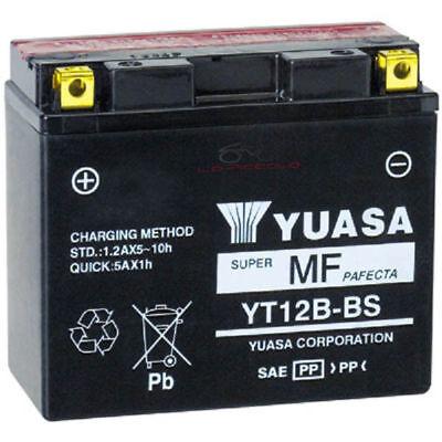 BATTERIA YUASA YT12B-BS YT12BBS YAMAHA FZ6 FAZER 600 '04-'08