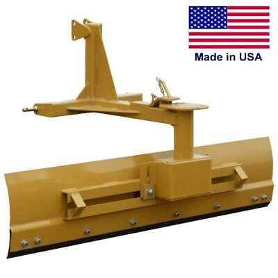 6 Ft Grader - Tractor - Category 1 - 3 Point Hitch - 20 To 50 Hp Required - 72