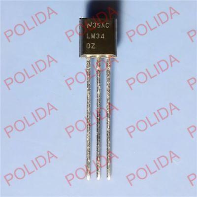 eBay - 5 Pcs LM34 Temperature Sensor