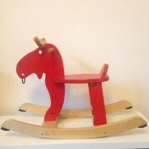 Ikea rocking horse - moose