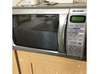 Microwave SHARP with grille