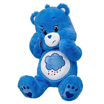 "Build a Bear - Care Bears 17"" Grumpy Bear™ Bear Plush Unstuffed Animal NEW"
