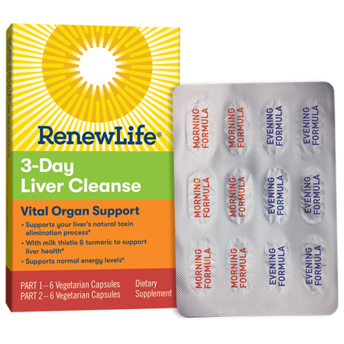 Renew Life - 3 day Liver Cleanse Vital Organ Support