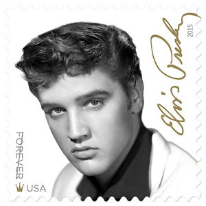 Details about new usps elvis presley forever stamp sheet of 16