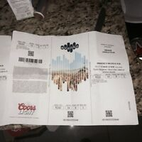 Drake show march 31st - 2 tickets for sale