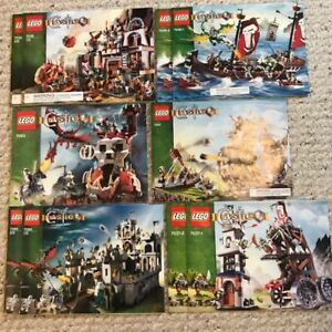 (13) Lego Castle sets from 2007/2008 Complete w/instructions.