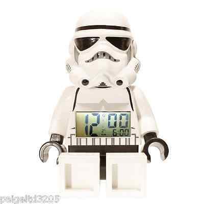 Lego Star Wars StormTrooper Mini Figure Alarm Clock (Star Wars Storm Trooper Mini Figure Alarm Clock)
