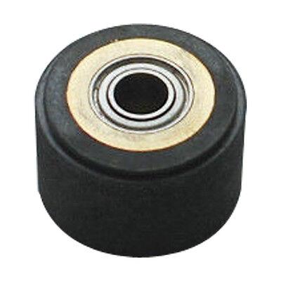 2pcs 4 X 10 X 14mm Silica Gel Pinch Roller Wheel For Mimaki Vinyl Cutter Plotter