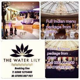 East London Hall Hire Wedding Venue From £999 call 02081275400