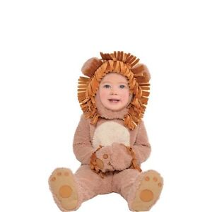 Baby Lion Halloween Costume - size 1T/2T