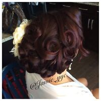 Hairstylist (updos&style) Mobile Calgary