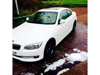 E92 facelift lci (alpine white) bonnet and bumpers wanted