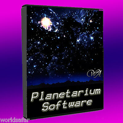 ASTRONOMIA Software Space Exploration PLANETARIO, CIELO GRAFICI, Celestiali