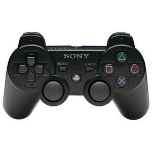 SONY-PLAYSTATION-3-PS3-DUAL-SHOCK-CONTROLLER-BLACK