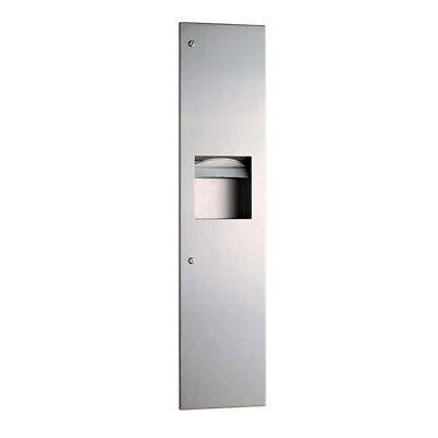Bobrick B3803 Recessed Paper Towel Dispenser Waste Receptacle