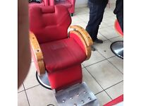 Barber chairs 4 available