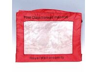 Royal Mail 1st 2nd Class C4 Franking Pouch International A Single Pouch Mail Bag