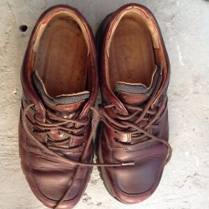 Man shoes Clarks 10 leather