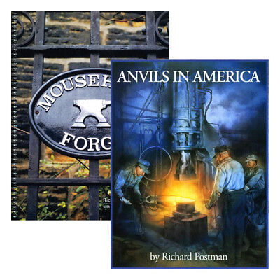 Blacksmith Anvils Book Set: Anvils in America & Mousehole Forge (2 Book Set)