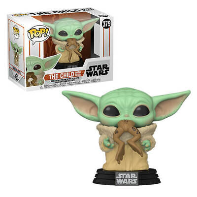FUNKO POP! VINYL STAR WARS MANDALORIAN THE CHILD WITH FROG #379 ** PREORDER **