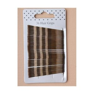 36-brown-4-5cm-kirby-grips-Hair-Clips-Hair-Pins-for-Daily-Hair-styling-Hair-up