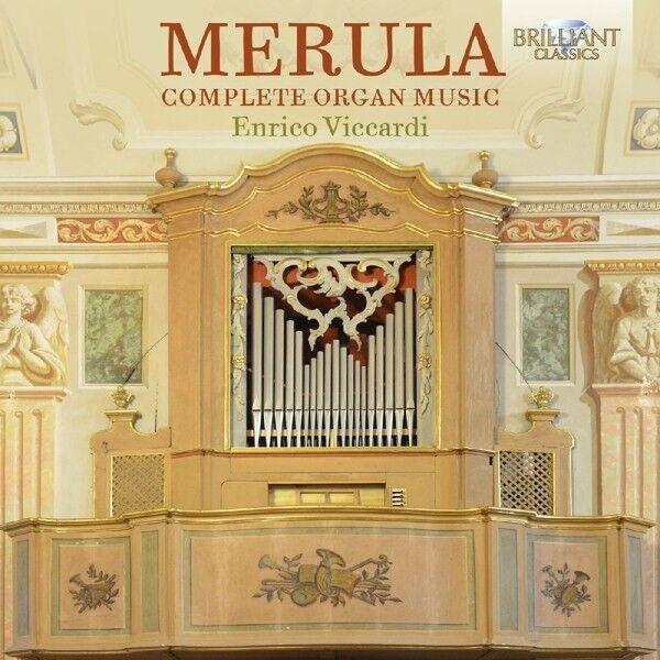 ENRICO VICCARDI - COMPLETE ORGAN MUSIC  CD NEU MERULA,TARQUINIO