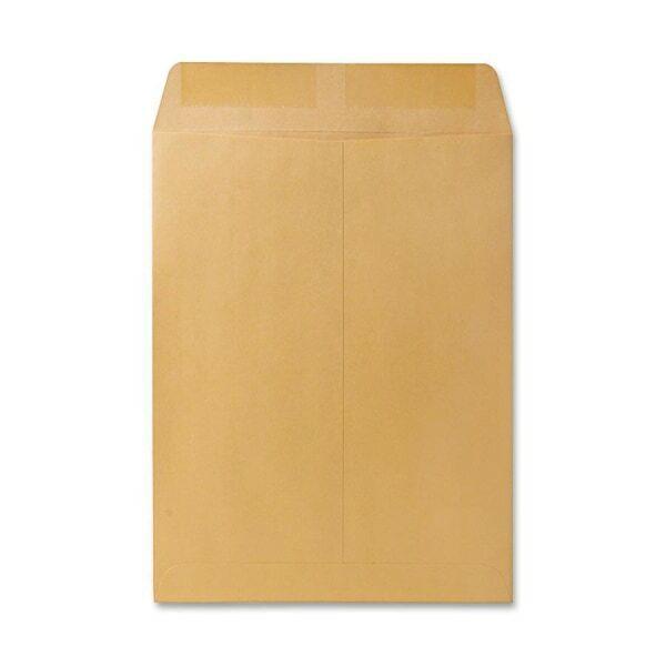 "Catalog Envelope, Plain, 28Lb, 9-1/2""x12-1/2"", 250/BX, Kraft"