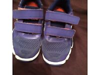 adidas trainers size 9 and 10 (boys)
